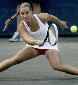 Las piernas eslovacas de Dominika Cibulkova