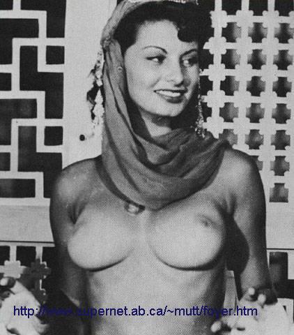 Resultado de imagen de Sophia Loren (Desnudo)