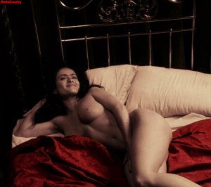 Salma Hayek, desnuda en 'Frida'