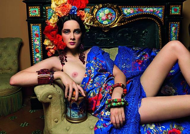 Paz Vega Desnuda Ante La Virgen Calendario Completo Marianodigital