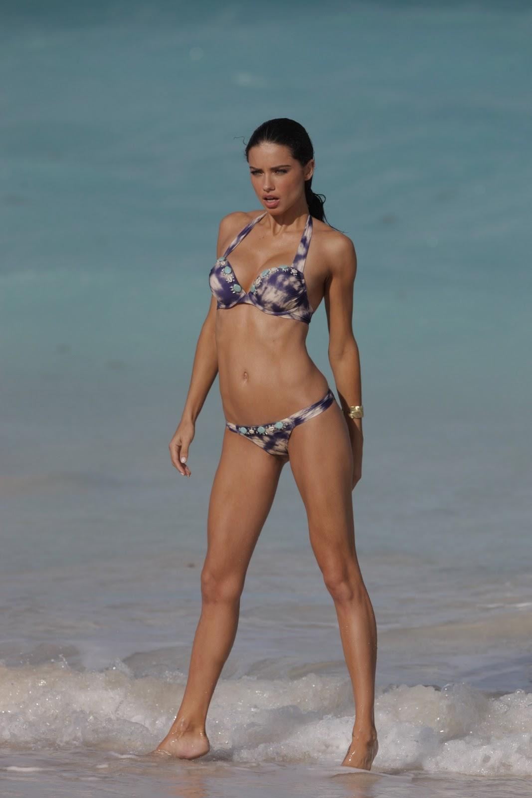 Adriana lima 2012 victoria039s secret beach bombshell advert 5