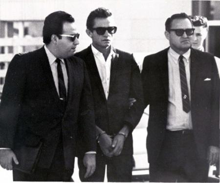 El arresto de Johnny Cash en El Paso