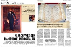Las repugnantes manipulaciones catalanas sobre textos históricos