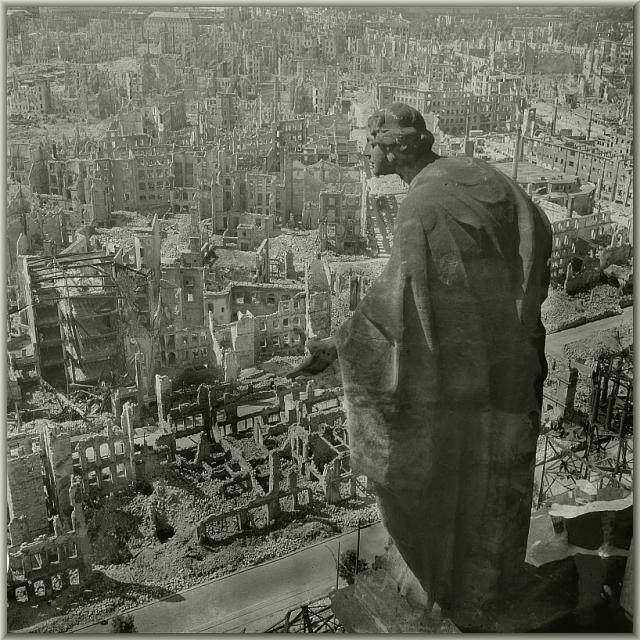dresde, febrero 1945