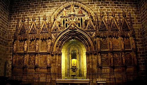 El auténtico Santo Grial está depositado en esta capilla de la catedral de Valencia