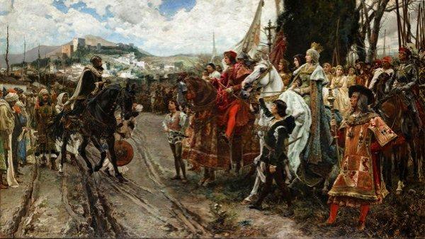 Toma de Granada por las Reyes Católicos, dos de enero de 1492