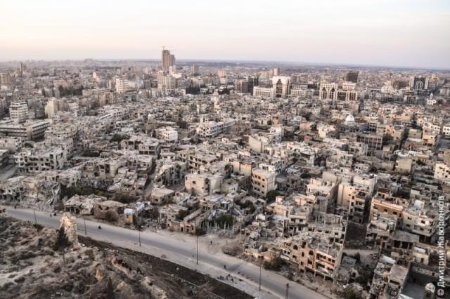 Alepo, Siria, 2016