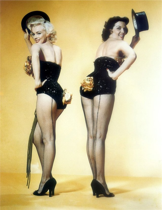 Marilyn Monroe y Jane Russell, 1953 1