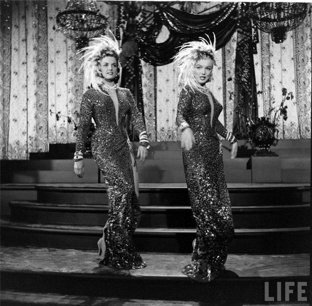 Marilyn Monroe y Jane Russell, 1953 2