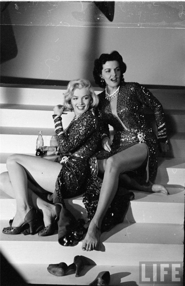Marilyn Monroe y Jane Russell, 1953 3