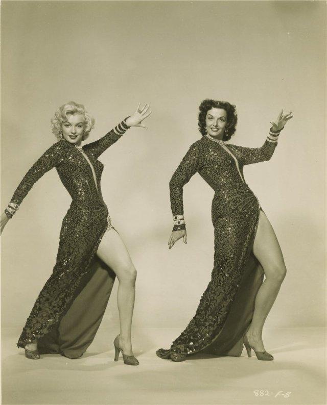 Marilyn Monroe y Jane Russell, 1953 4