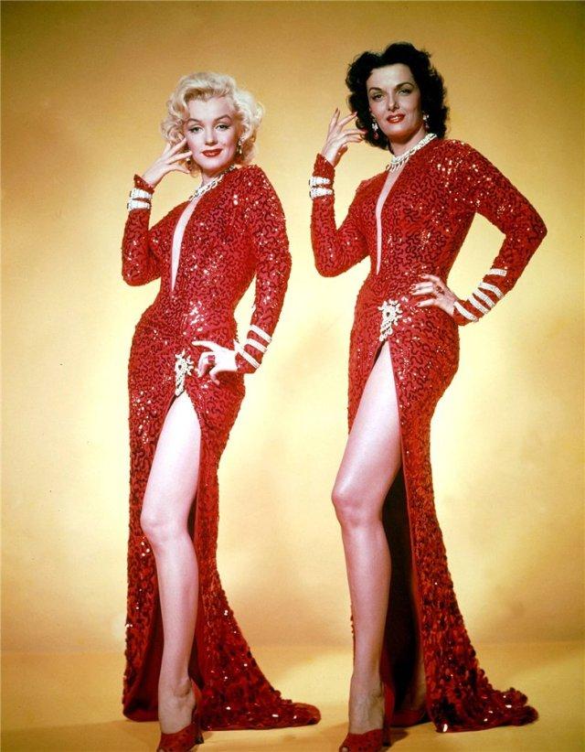 Marilyn Monroe y Jane Russell, 1953
