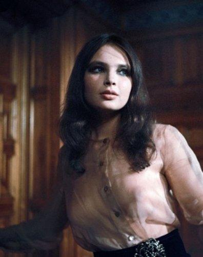 La actriz polaca Anna Dymna