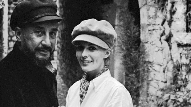 Romain Gary y Jean Seberg en 1966 - ABC