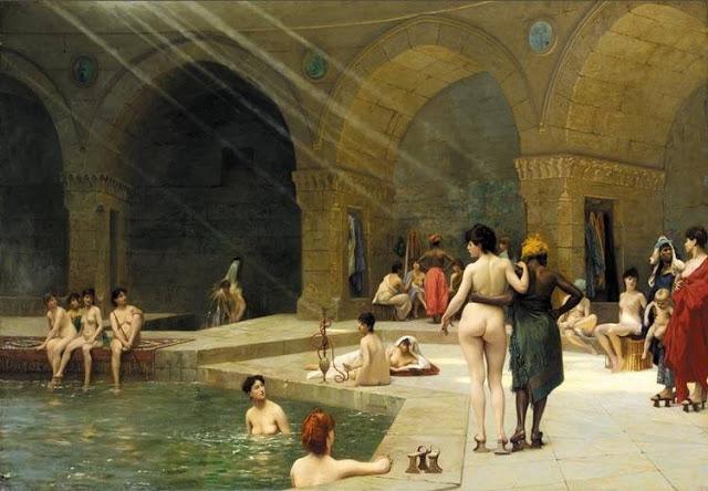 El harén, pintura de Jean León Gerome