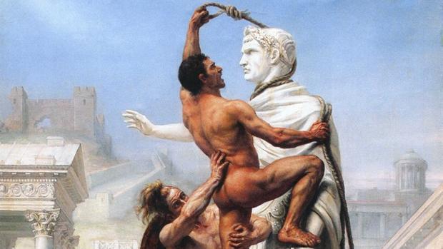 «El Saqueo de Roma» por los visigodos