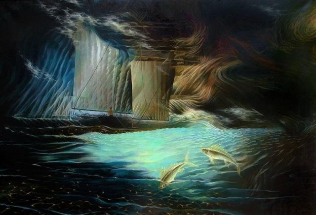 pintura-artista-oleg-korolev-nacido-en-1968