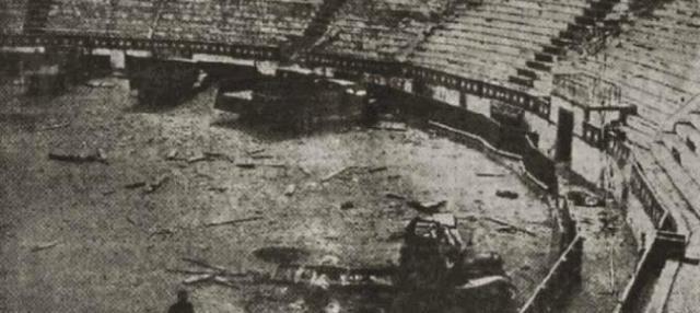 Plaza de toros de Badajoz, 1936