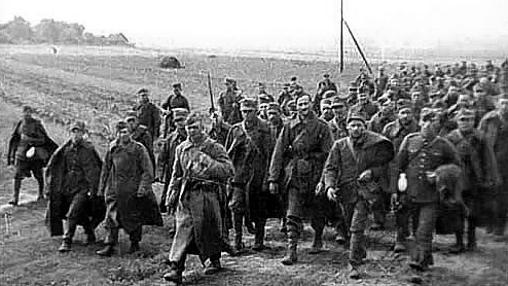 Polacos capturados por los soviéticos tras la contienda- ABC